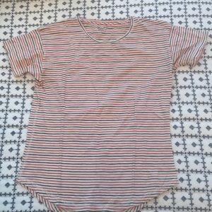 Made well striped t shirt